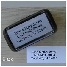 Personalized Custom 4 LINE RETURN ADDRESS Self Inking Rubber Stamp