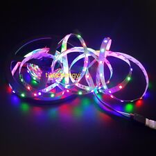 5M 500cm 3528 2835 RGB 300 Led SMD Flexible Light Strip Lamp Non Waterproof IP60