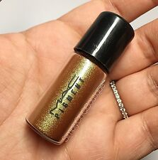 NEW MAC Pigment *OLD GOLD* Vial Charm 2.5g Eyeshadow AUTHENTIC LE