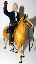HARTLAND GENERAL CUSTER W/PALOMINO HORSE U.S. CAVALRY SADDLE & ACCESSORIES