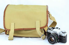 Vintage Camera Bag with Shoulder Strap (fits Canon Nikon)