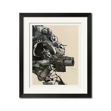 Metal Gear Solid Gunship Graphic Art Poster Print