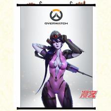Overwatch Gaming WALLSCROLL carta da parati tessuto POSTER REGALO HOME decorazione 60x90cm