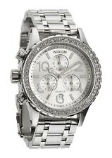 New Nixon 38-20 Chronograph Stainless Steel Quartz Women's Watch A4041874