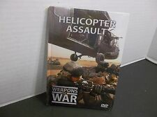 WEAPONS OF WAR   HELICOPTER ASSAULT DVD VIDEO NEW