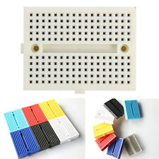 Mini Solderless Prototype Breadboard 170 Tie-points Adhensive For Arduino Kit