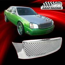 2000-2005 Diamond Mesh Grill Style Chrome ABS Grille For Cadillac Deville New