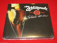 WHITESNAKE - SLIDE IT IN - 25TH ANNIVERSARY 1984-2009 - CD + DVD