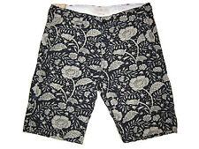 Ralph Lauren Denim and Supply Weathered Black White Floral Beach Shorts 32