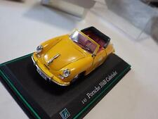 Hongwell Classic Collections Yellow Porsche 356B Cabriolet Diecast 1:43 NIB