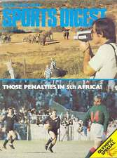 SPORT DIGEST SETTEMBRE 1976 NZ MAG Barry John RUGBY Leslie's tutti neri Romania