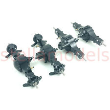 All Metal 8x8 Axle Set (4pcs) with diff lock for 1/14 Tractor Truck / Dump Truck