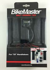 "BikeMaster Heated Grips LCD Display Fits 7/8"" Handlebars Kawasaki Twist Throttle"