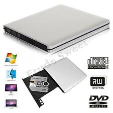 Slim External USB 3.0 Drive Player CD+/-RW DVD +/-RW Burner Reader Rewriter UK