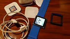 Apple iPod Nano 6. generazione blu (8gb) OVP