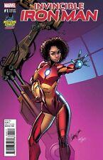 Invincible Iron #1 J Scott Campbell Variant Riri Williams Marvel Comics
