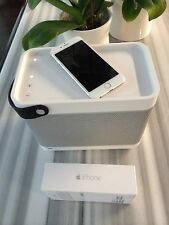 Apple iPhone 6 128GB Silver Unlock Jailbreak Bang & Olufsen Beolit 12 Bundle