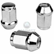 24 CHROME Wheel nuts for Rims Mitsubishi L200 (K60T/KA0T) Pajero (V60)