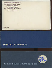 Three United States Special Mint Sets 1965 + 1966 + 1967 With Free Shipping !