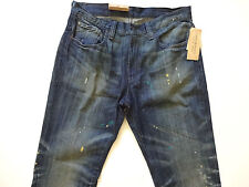 New Ralph Lauren Denim and Supply Slouch Fit Paint Splattered Jeans 29 x 32