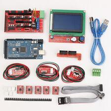 Kit RAMPS 1.4 Controlador Para 3D RepRap Impresora Mega 2560 R3 2004LCD A4988