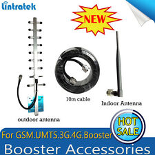 Indoor Whip Antenna/Outdoor Antenna 800/2700 With 10m Cable For Signal Booster