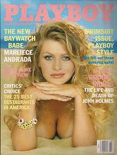 PLAYBOY MARCH 1998-H – MARLIECE ANDRADA – JAIME PRESSLY NUDE !!!