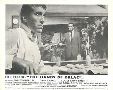 Hands of Orlac Original lobby card Christopher Lee Mel Ferrer