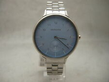 Authentic Skagen SKW2416 Anita Powder Blue Dial Women's Watch