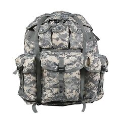 ARMY AT DIGITAL CAMO US UCP ACU Large ALICE PACK WITH ALU FRAME Rucksack