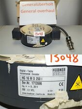 Hubner HG 16 M D 250 I digital tacho 1712696 incremental encoder HG16MD250I