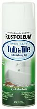 RustOleum 280882 Specialty Tub and Tile Spray Paint, 12Ounce, White, New