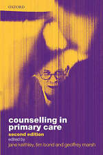 Counselling in Primary Care-ExLibrary