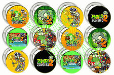 "Plants vs Zombies 2 II Video Game Large 2"" Buttons/Pins Party Favors (12 pcs)"