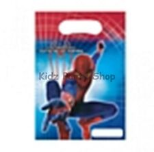 The amazing spiderman Party - 6 sacs de butin-Anniversaire-envoi gratuit au royaume-uni