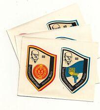 3 x DDR Abziehbild Schiebebild Helmut Welz Arbeiter & Bauernmacht FDJ * JP 1982