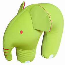 Microbeads Toy Elephant Child U Shaped Travel Pillow Head Neck Support Cushion