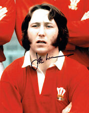 JPR Williams Autograph SIGNED Welsh Rugby 10x8 Photo AFTAL COA Private Signing