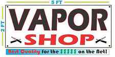 VAPOR SHOP Full Color Banner Sign Smoke shop C STORE Cigarette