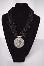 Necklace NEPALI Handcrafted Bead Black Fashion Necklace