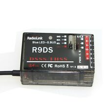 RadioLink R9DS 2.4G 9CH DSSS Receiver for RadioLink AT9 AT10 Transmitter RC Heli