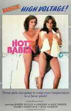 Hot Babes 1978 Poster 01 Metal Sign A4 12x8 Aluminium
