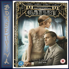 THE GREAT GATSBY - Leonardo DiCaprio & Carey Mulligan **BRAND NEW DVD  **