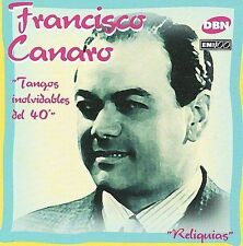 CANARO FRANCISCO-TANGOS INOLVIDABLES DEL 40 CD NEW