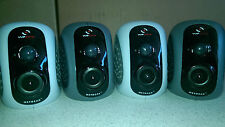 Qty 4 Netgear Vuezone Night and Day Cameras 2 X 2050  2 X 2060