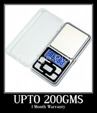 New Digital Mini Pocket Weight Scale Measurement Weighing Machine Upto 200gms