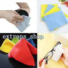 10X Microfiber Phone Screen Camera Lens Glasses Square Cleaner Cleaning Cloth PS