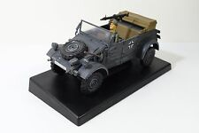 21st Century WWII German Kubelwagen Military 1:18 Scale Plastic Model Used