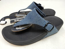 FITFLOP WOMENS SANDALS THE SKINNY DENIM SIZE 7