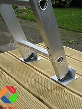 LadderMat Footee Anti-Slip Ladder (Pair) - Anti-Slip for Decking & Grass. FTS
